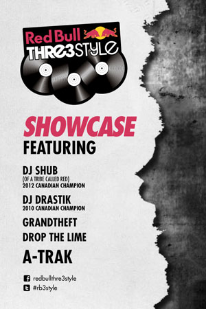 Red Bull Thre3style Showcase poster